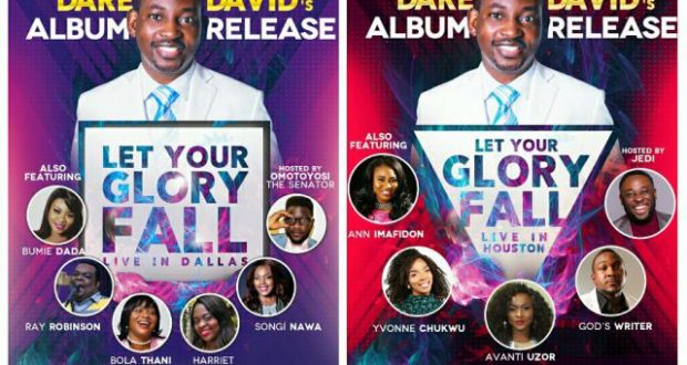 Let Your Glory Fall -Dare David May 20th-28th May