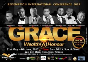 Event: Redemption Int'l Conference 2017!