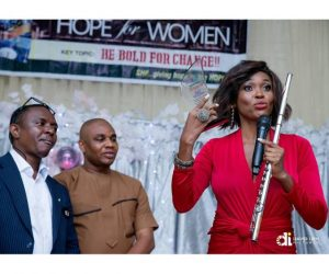Ebele The Flutist Honoured With 'Inspirational Award' In Lagos
