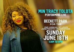 2nd Annual St. Louis Juneteenth Celebration With Pastor Tracy Tolota