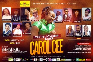 THE FELLOWSHIP with Carol Cee on 6th of August [@iamCarolCee]