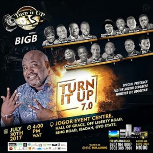 Event: Turn It Up With Big B (The 7th Edition)
