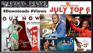 Top 6 Songs Of The Month Of July [#Downloads #Trending]