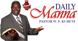 DCLM Daily Manna – Weaned From Covetousness