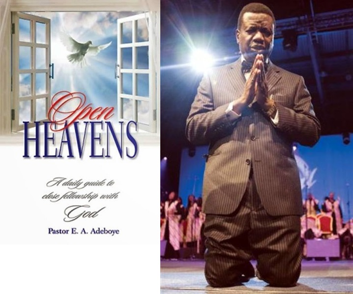Pastor E.A. Adeboye - Open Heaven Devotional