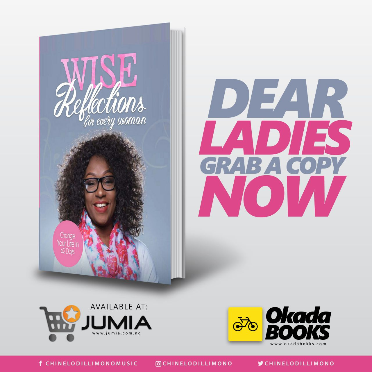 Pst. Chinelo Dillimono -Wise Reflections for Every Woman Cover