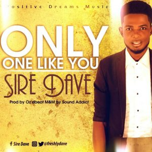 """Sire David – """"Only One like You"""""""