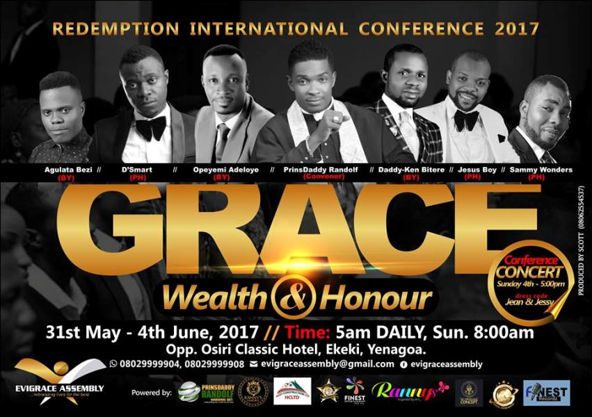 Redemption Int'l Conference 2017!