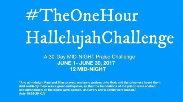 #HallelujahChallenge