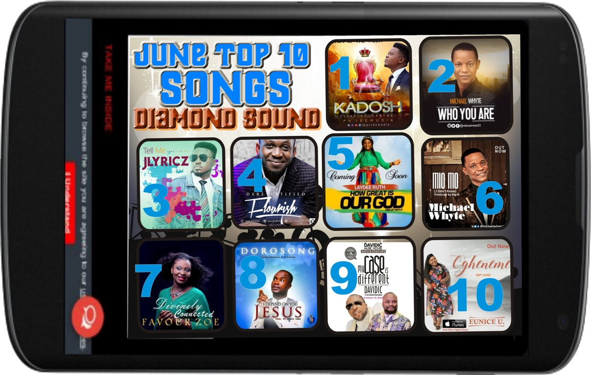 Top 10 songs for June