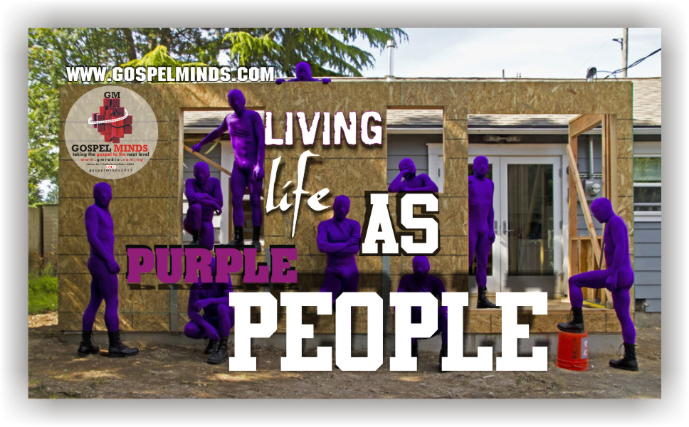 Living Life as Purple People