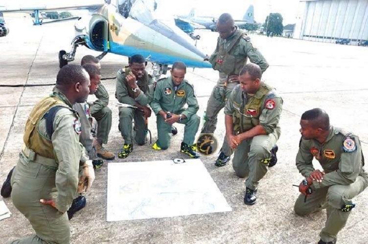 NAF Trains Officers