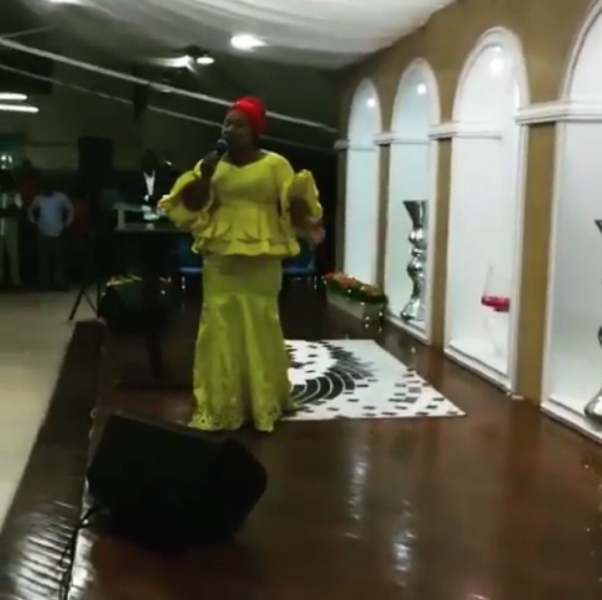 Chioma Jesus in Accra Ghana