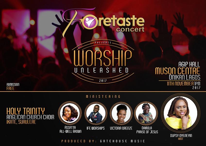 Foretaste Concert - Worship Unleashed