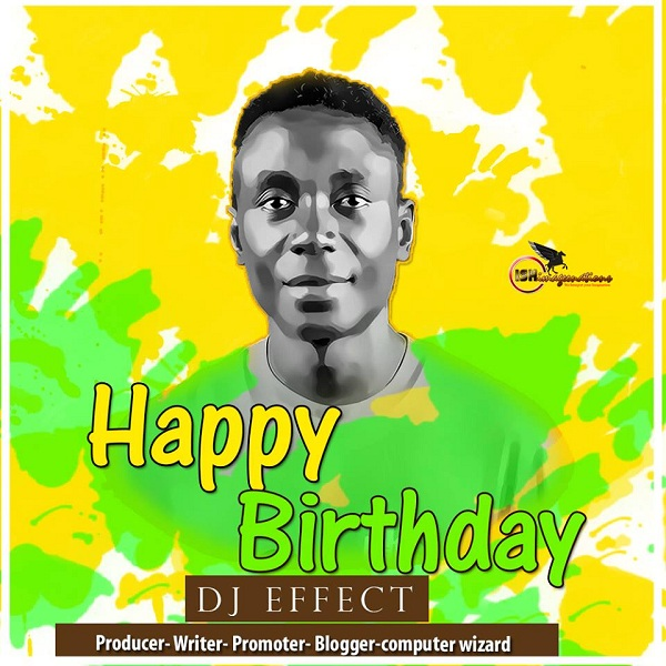 Happy Birthday Dj Effect