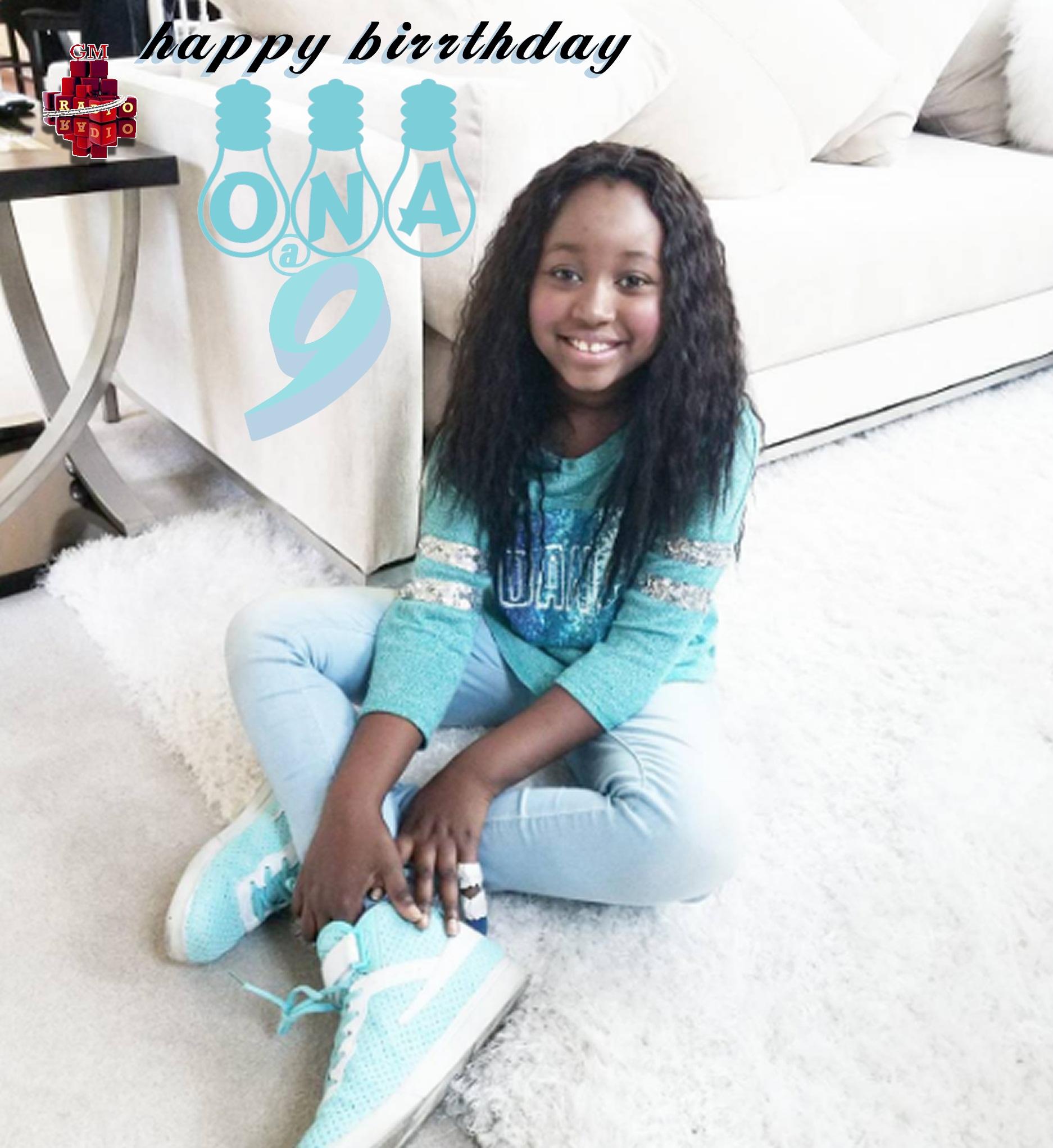 Min. Tracy Daughter Birthday