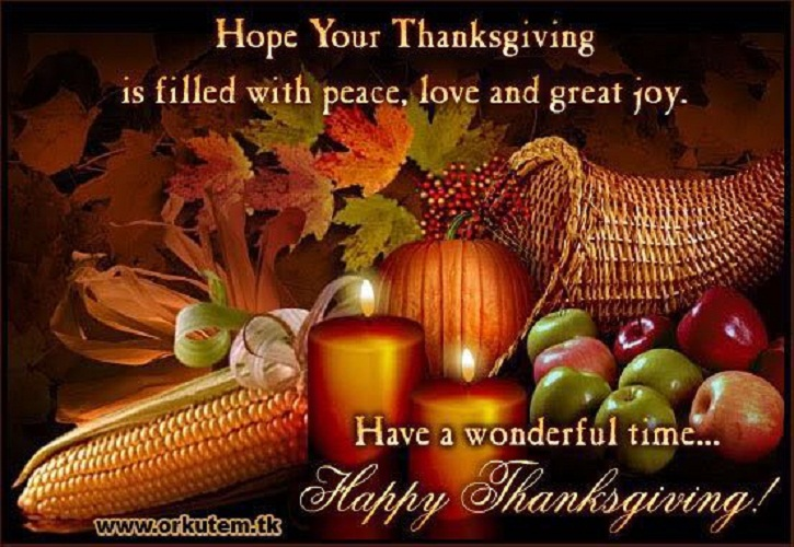 Happy American Thanksgiving Day