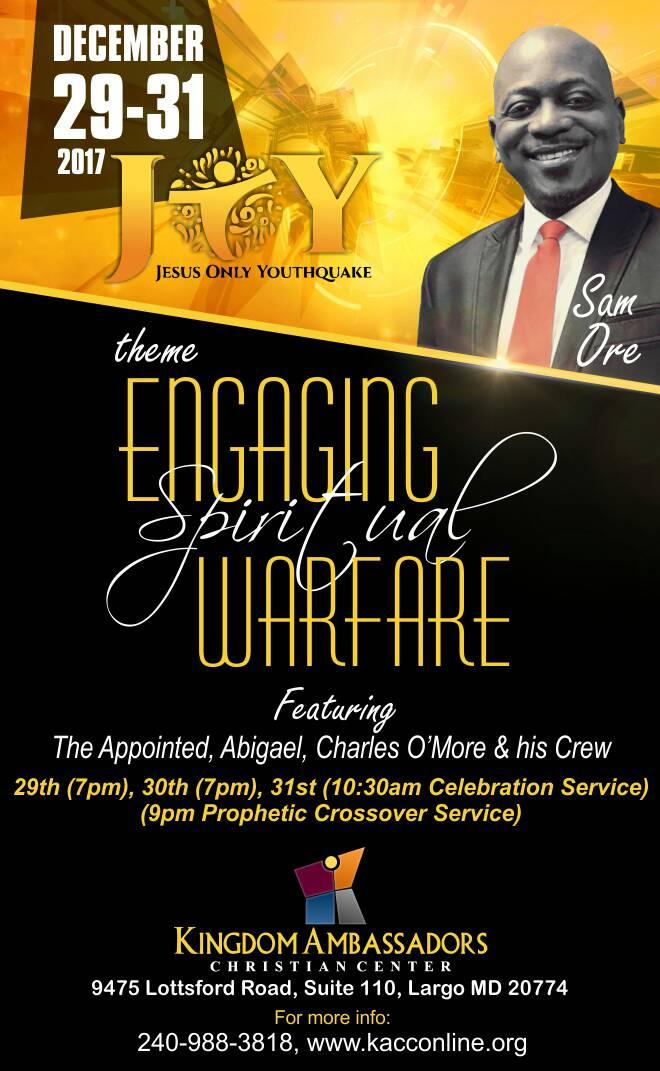 Engaging Spiritual Warfare