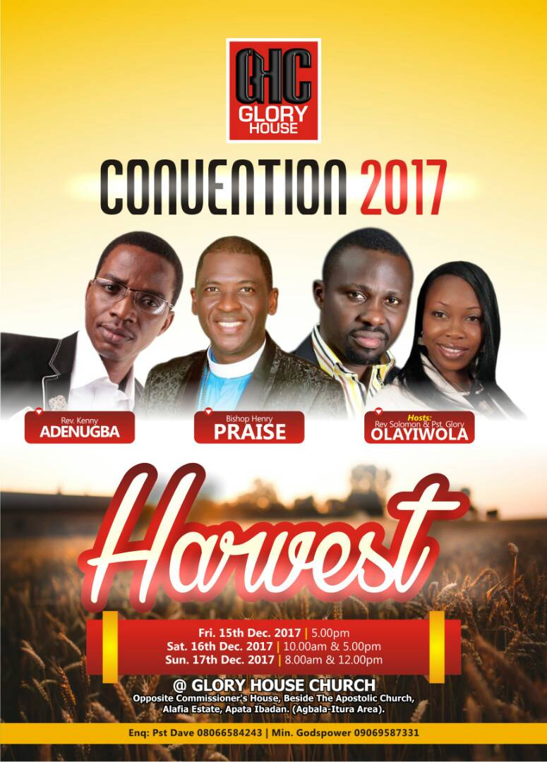 Glory House Convention 2017