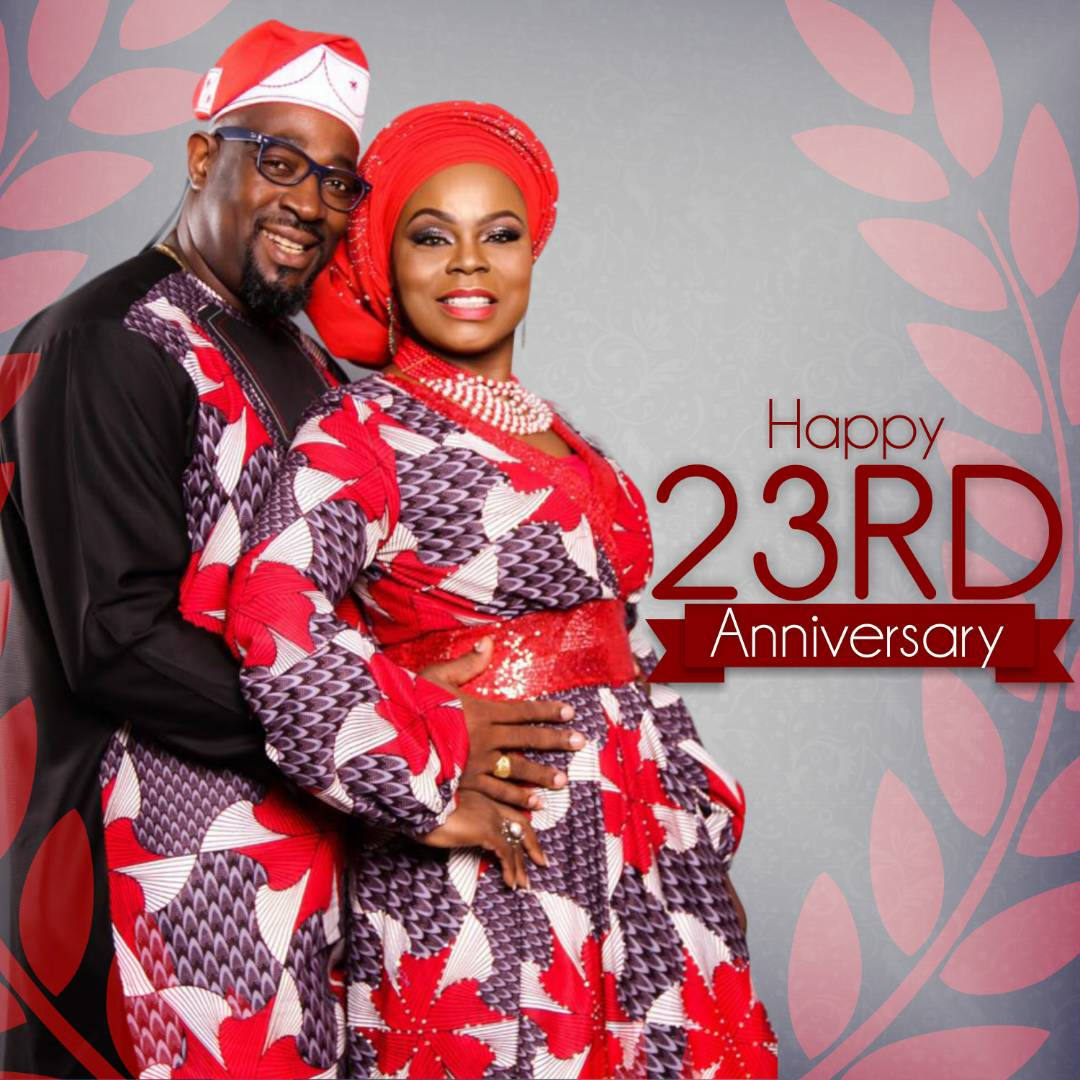 Isabella Melodies celebrate 23rd wedding anniversary
