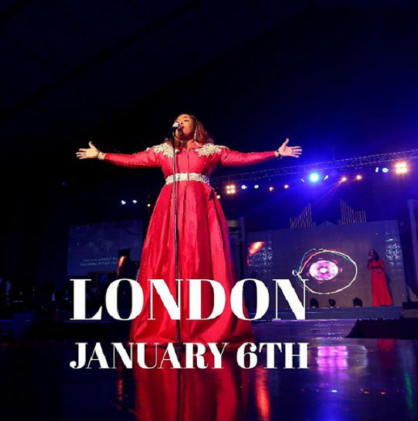 Sinach UK TOUR in London, Birmingham AND Glasgow