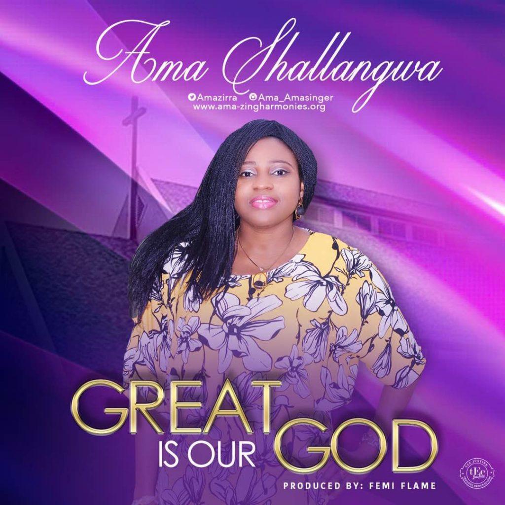 Ama Shallangwa - Great Is Our God [Gospelminds.com]