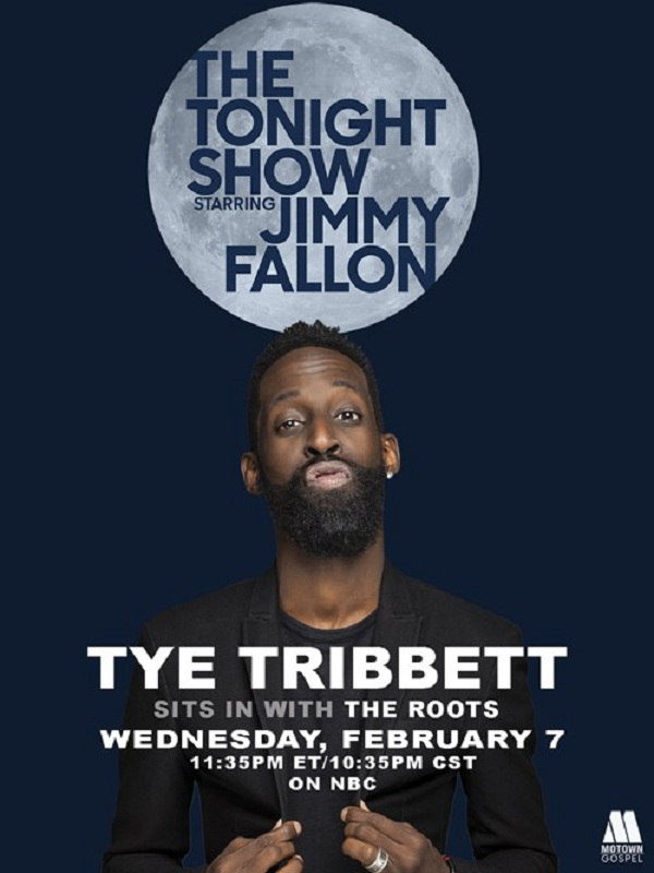 Tye Tribbett to Perform with The Roots
