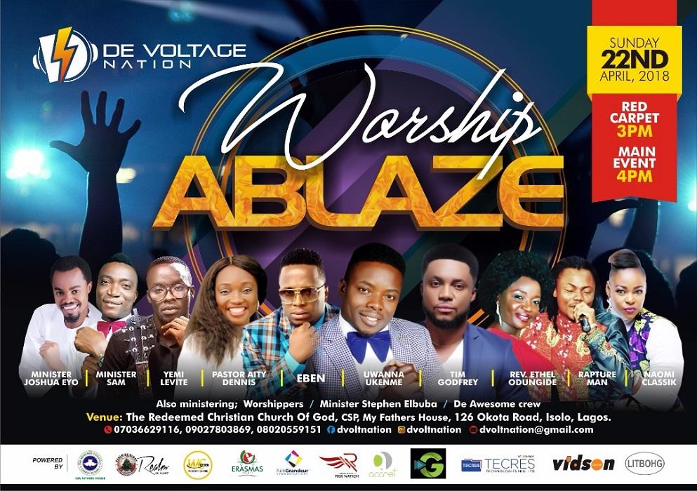 De Voltage Nation Host Worship Ablaze 2018