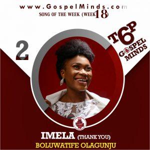 Boluwatife Olagunju – Imela (Thank You)