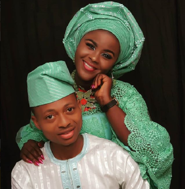 Meet Deborah Ibrahim Ajayi and her Husband