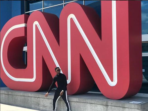 Joepraize CNN with Michael Holmes
