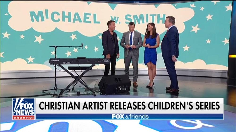 Michael W. Smith Appears On FOX & Friends