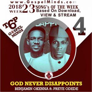 God Never Disappoints – Benjamin Okenna