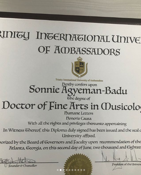 Sonnie Badu 3 New Degrees