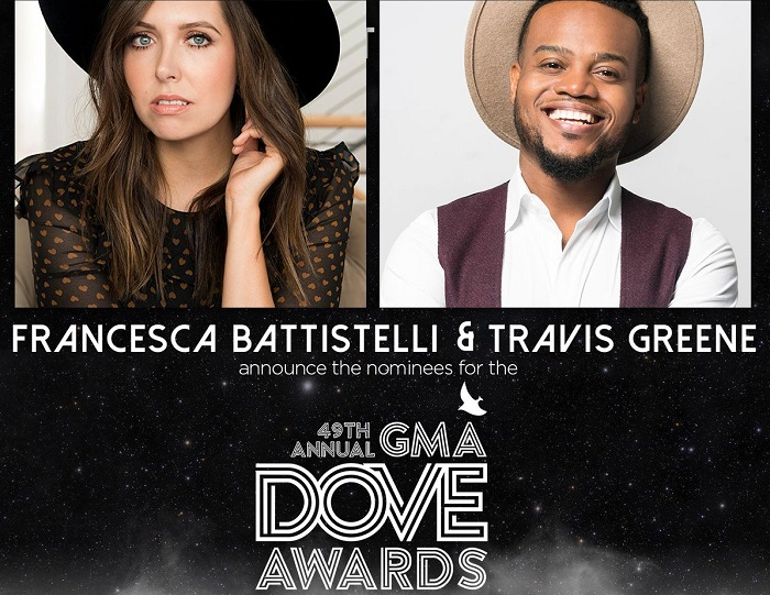 Nominations For 49th Annual GMA Dove Awards
