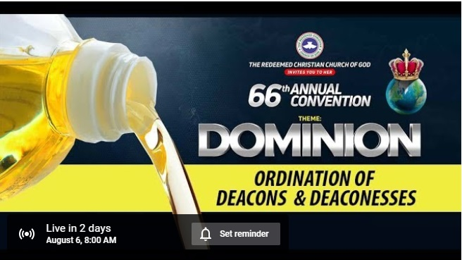 Day 1 RCCG 66 Annual Convention 2018