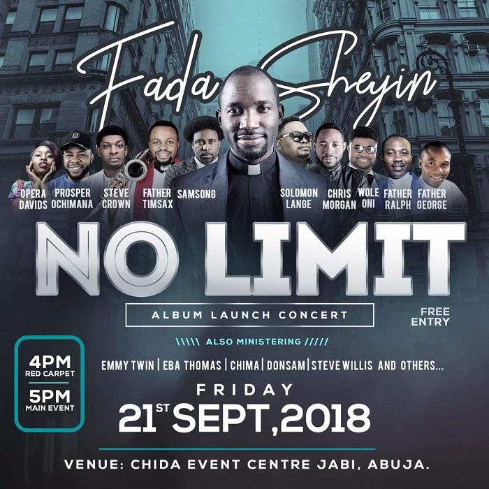 Fada Sheyin New Album No Limit Live Concert
