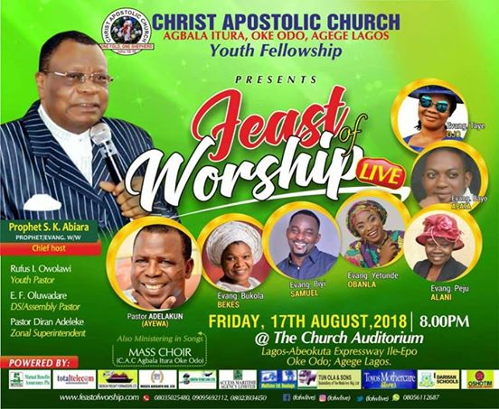 Feast Of Worship 2018 Concert
