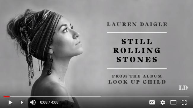Lauren Daigle Still Rolling Stones