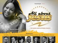Naomi Classik 'All About Jesus' Album Launch Concert Ft. Tim Godfrey