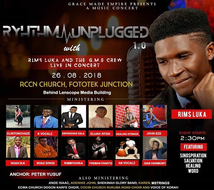 Rhythm Unplugged 1.0 With Rims Luka Live