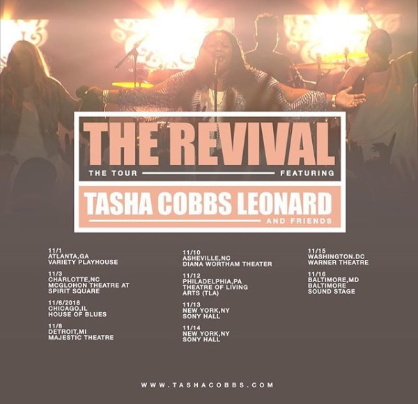Tasha Cobbs Leonard 'The Revival Tour'