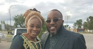 Tope Alabi and Bishop Mavin Sapp