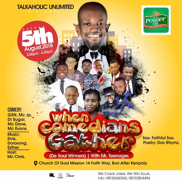 When Comedians Gather (De Soul Winners) with Mr. Teenager
