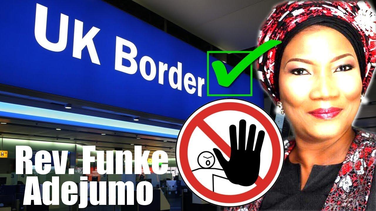 Rev Funke Felix Adejumo, Banned