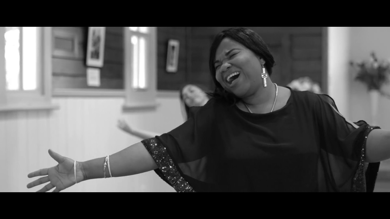Busola Martins music video of Broken But Whole