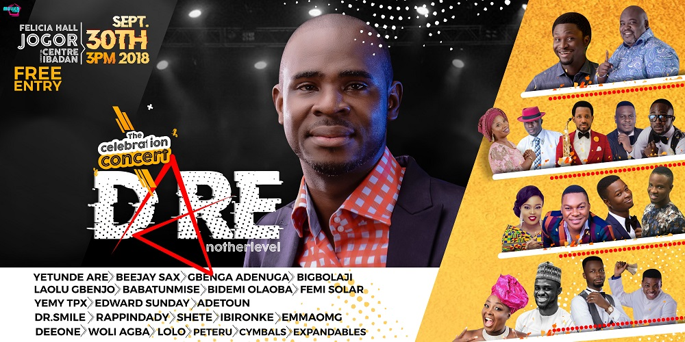 Dare Another Level Presents 'The Celebration Concert'