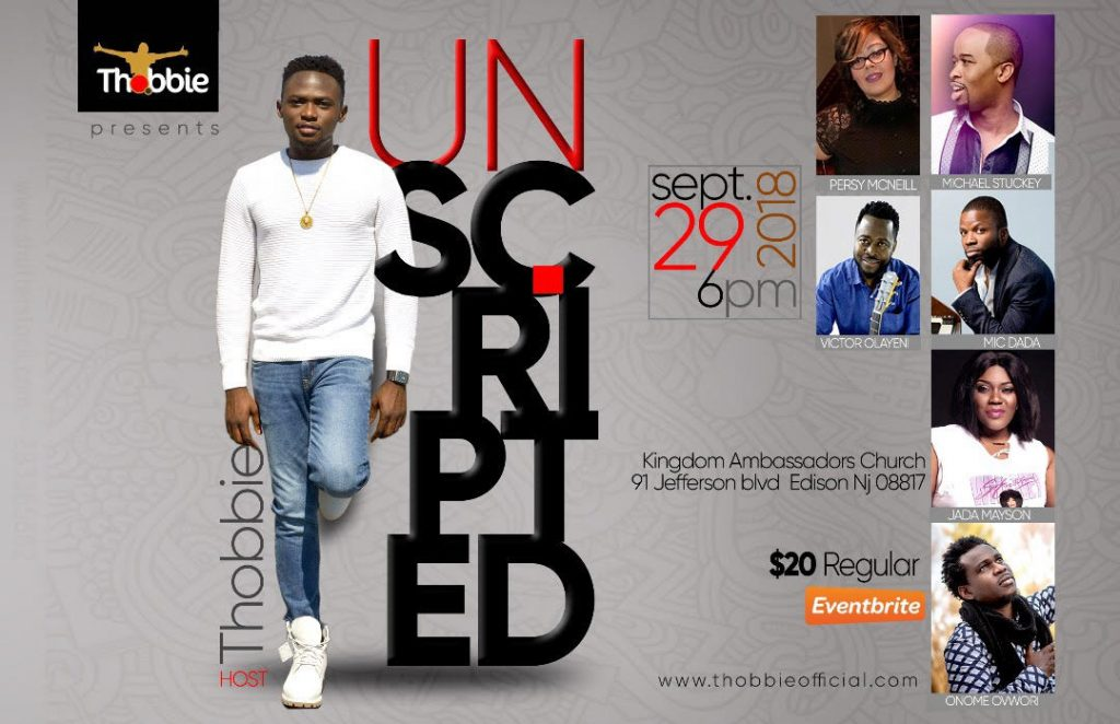 The UNSCRIPTED Concert with Thobbie