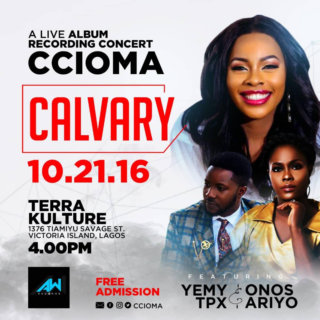 Ccioma Live Recording Album Concert, Calvary 2018