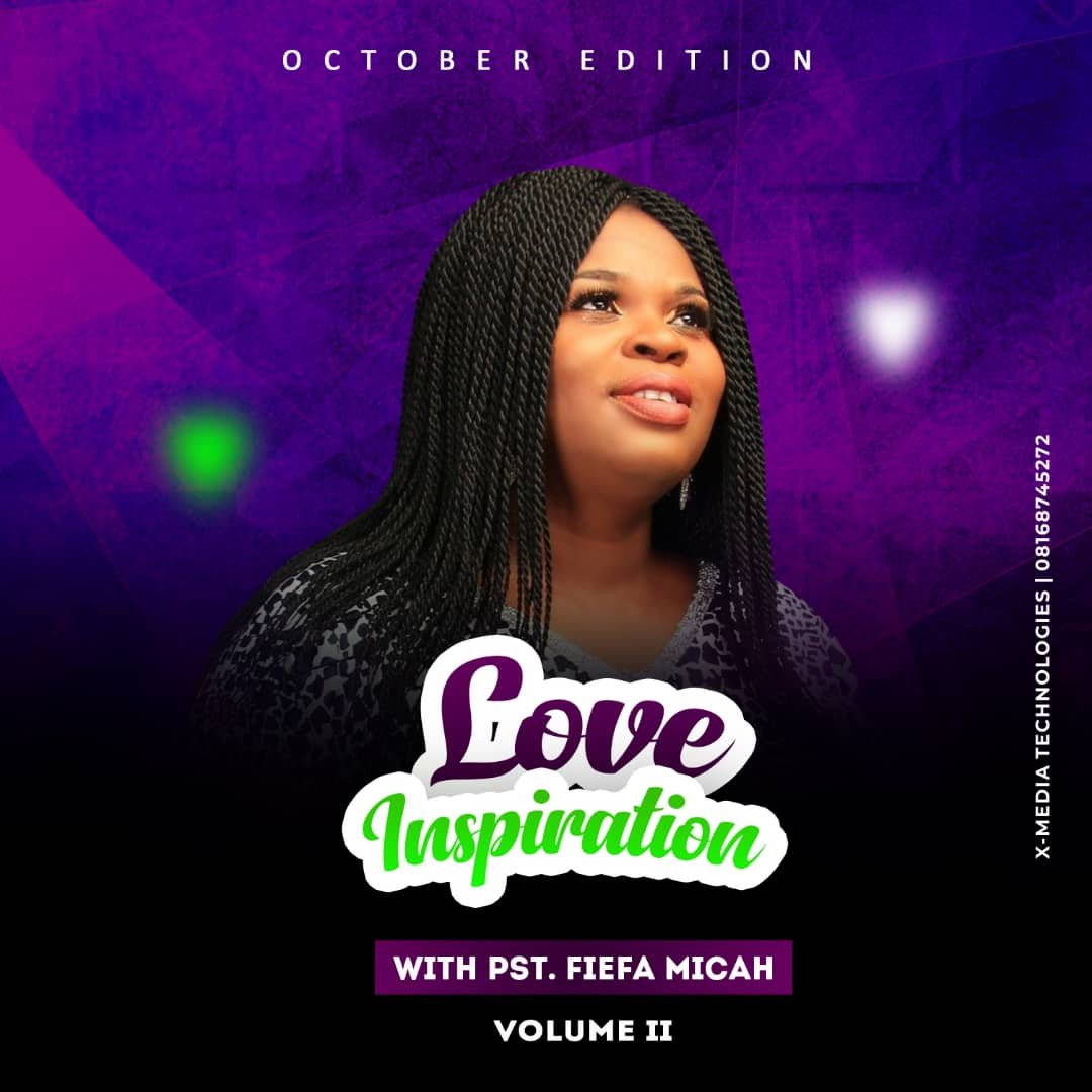 Fiefa Micah Love Inspiration 'See Things Differently' October Volume II